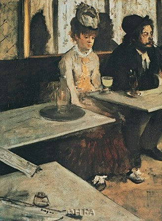 Absinth by Edgar Degas art print