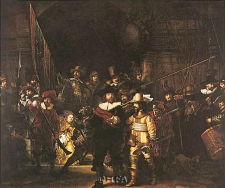 Night Watch by Rembrandt van Rijn art print