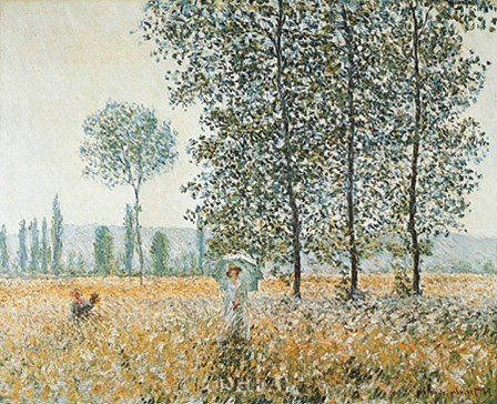 Fields in Spring by Claude Monet art print