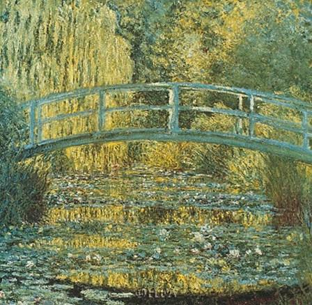 Bassin aux Nympheas by Claude Monet art print