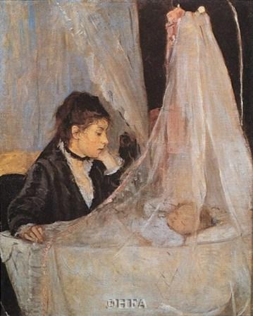 The Cradle by Berthe Morisot art print