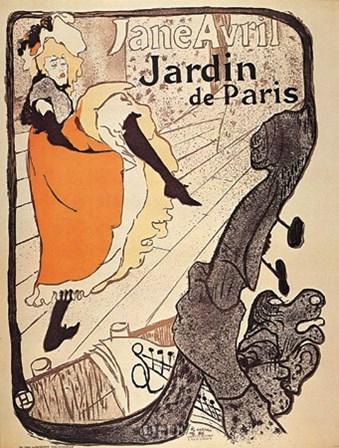 Jardin de Paris by Henri de Toulouse-Lautrec art print