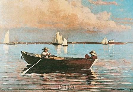 Gloucester Harbor by Winslow Homer art print