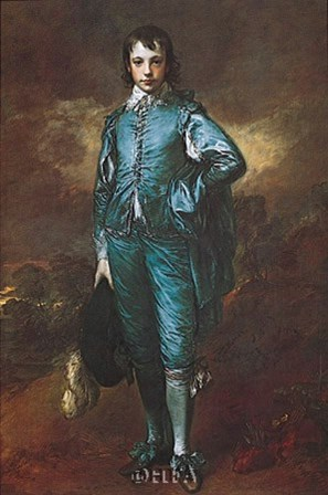 The Blue Boy by Thomas Gainsborough art print