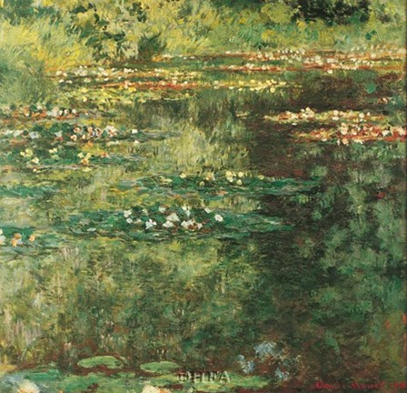 Pool with Waterlilies, 1904 by Claude Monet art print