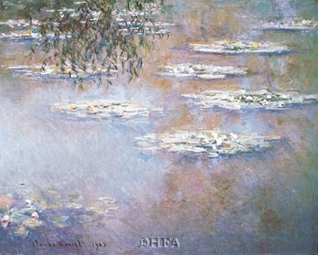 Waterlilies, 1903 by Claude Monet art print