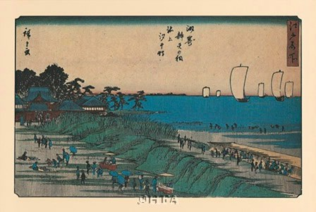 View of Yedo by Utagawa Hiroshige art print