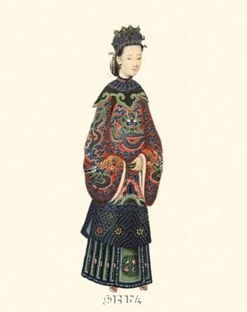 Chinese Mandarin Figure XI by 18th Century Chinese art print