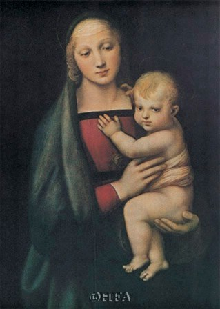 The Madonna Del Granduca by Raphael art print