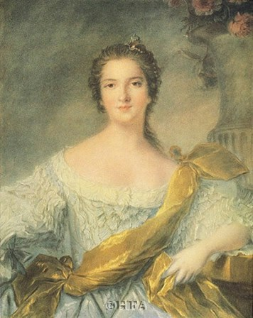 Madame Victoire de France by J.m. Nattier (d'apres) art print