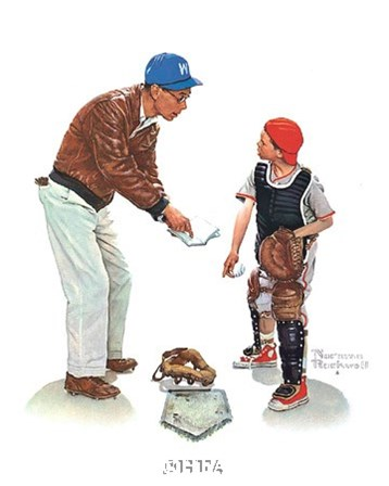 Big Decision by Norman Rockwell art print