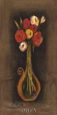 Sorrento Still Life I by Karel Burrows art print