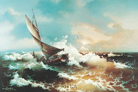 Calm Weather Ahead by Eugene Garin art print