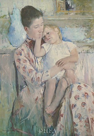 Mother & Child by Mary Cassatt art print