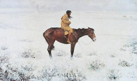 Herd Boy by Frederic Remington art print