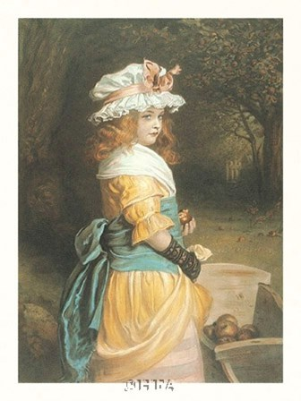 The Apple Gatherer by Sir John Everett Millais art print