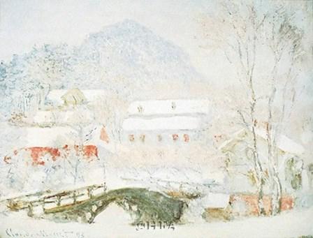 Sandvicken, Norway by Claude Monet art print