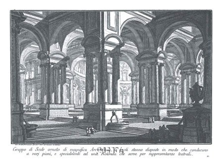 Rotonda by Francesco Piranesi art print