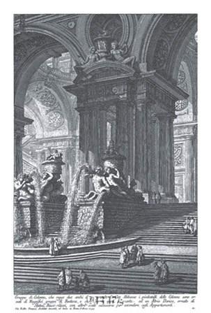 Gruppo di Colonne by Francesco Piranesi art print