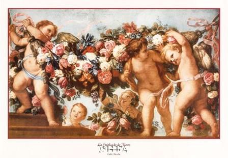 La Guirlande de Fleurs by Carlo Maratta art print