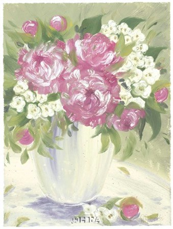 Peony I by Patricia Roberts art print