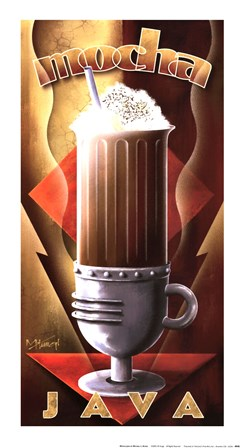 Mocha Java by Michael Kungl art print