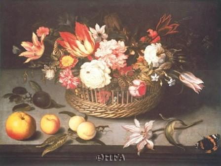 Corbeille de Fleurs by Johannes Bosschaerts art print