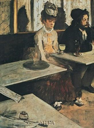 Absinth by Edgar Degas art print