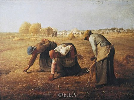 Gleaners by Jean Francois Millet art print