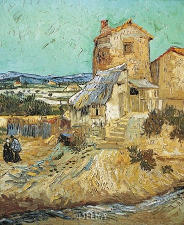 Old Mill by Vincent Van Gogh art print