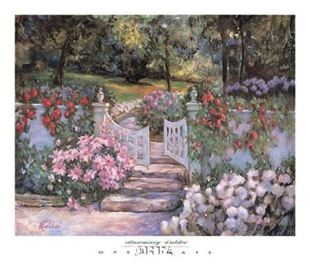 Open Gate by Rosemary Calder art print