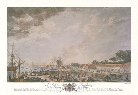 Le Port de Rochefort by Joseph Vernet art print