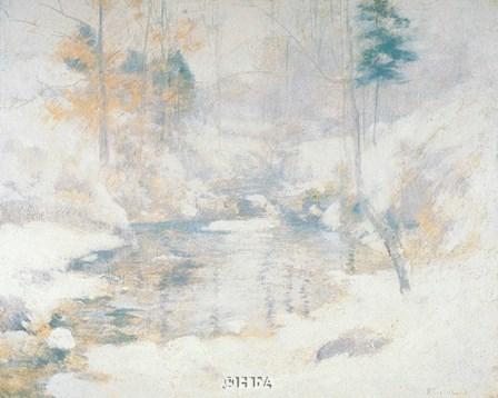 Winter Harmony by John H. Twachtman art print