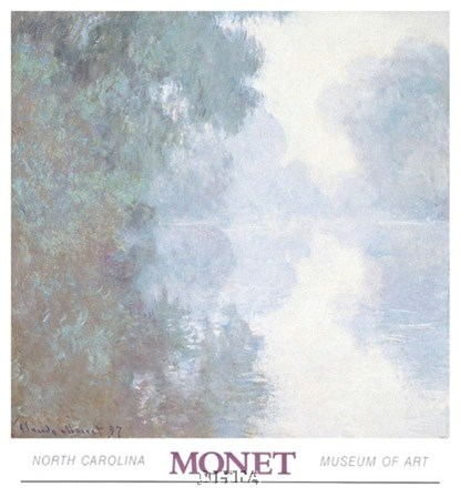 The Seine at Giverny, Morning Mists by Claude Monet art print