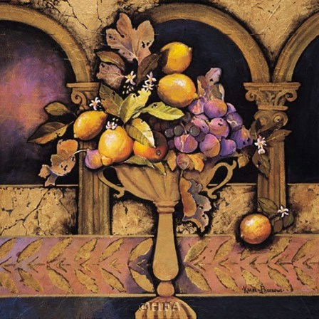Memories of Provence/Lemons & Figs by Karel Burrows art print