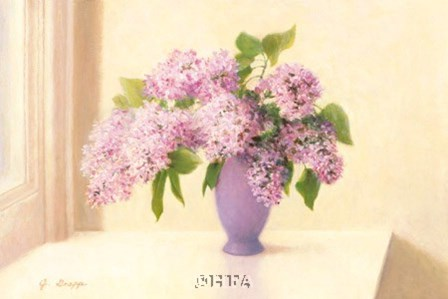 Lilacs by Jean Grapp art print