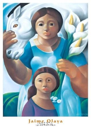 La Maternidad by Jaime Olaya art print