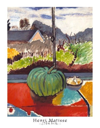 The Green Pumpkin by Henri Matisse art print