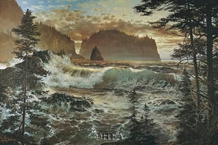 Islands at Eventide by Loren D. Adams Jr. art print