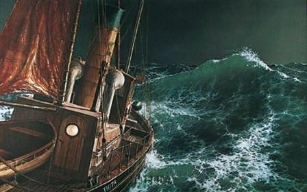 End of the Storm by Loren D. Adams Jr. art print