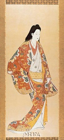 Actor Portraying a Woman by 18th Century Chinese art print