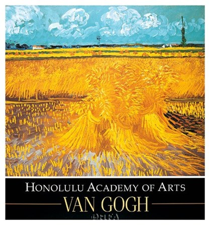 Wheatfield, 1888 by Vincent Van Gogh art print