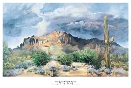 Monsoon Season by Charlotte Klingler art print