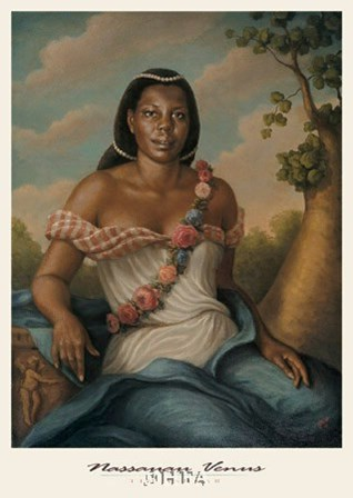 Nassauan Venus by Tim Ashkar art print