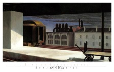 Dawn in Pennsylvania by Edward Hopper art print