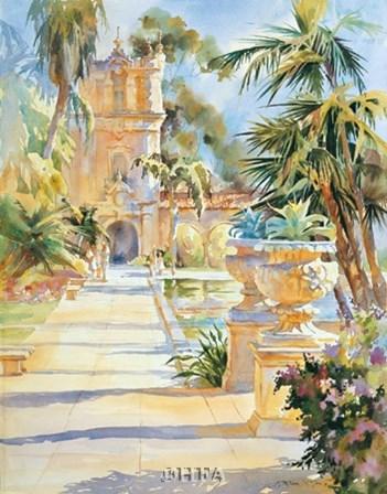 Balboa Park by Karen Mclean-Mcgaw art print