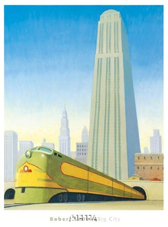 Big City by Robert LaDuke art print