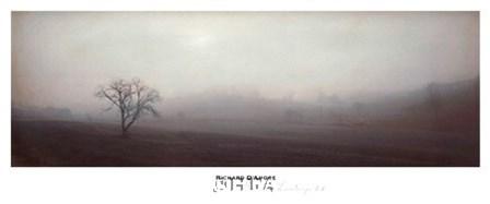 Bordeaux Landscape II by Richard D'amore art print