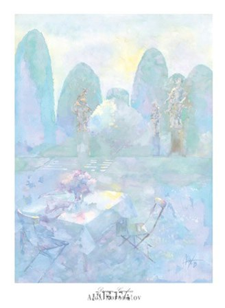 Dream Garden by Alex Koronatov art print