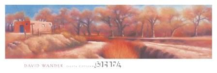 Isleta Cottonwoods by David Wander art print
